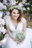 Boho vílí svatební šaty, 38