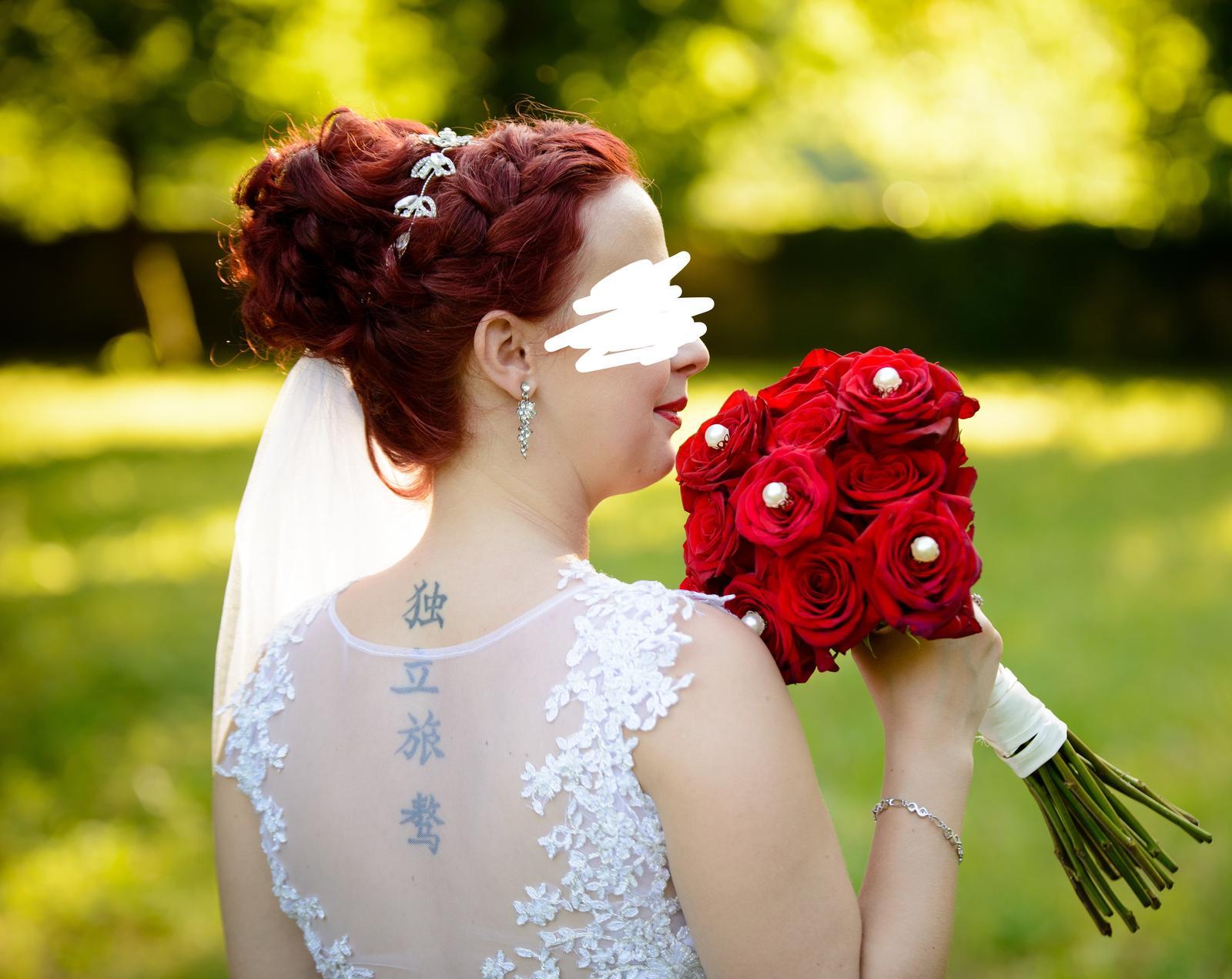 Svadobné šaty pre nižšiu postavu - Obrázok č. 1