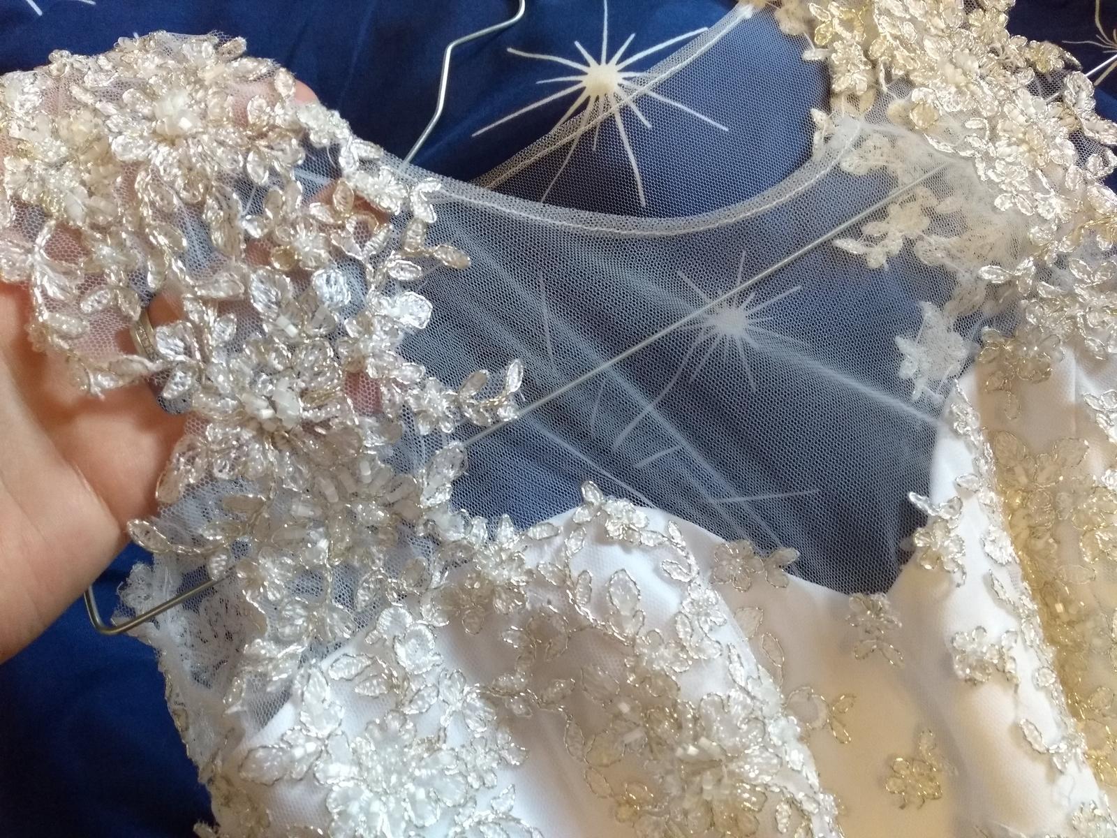 Svadobné šaty pre nižšiu postavu - Obrázok č. 3