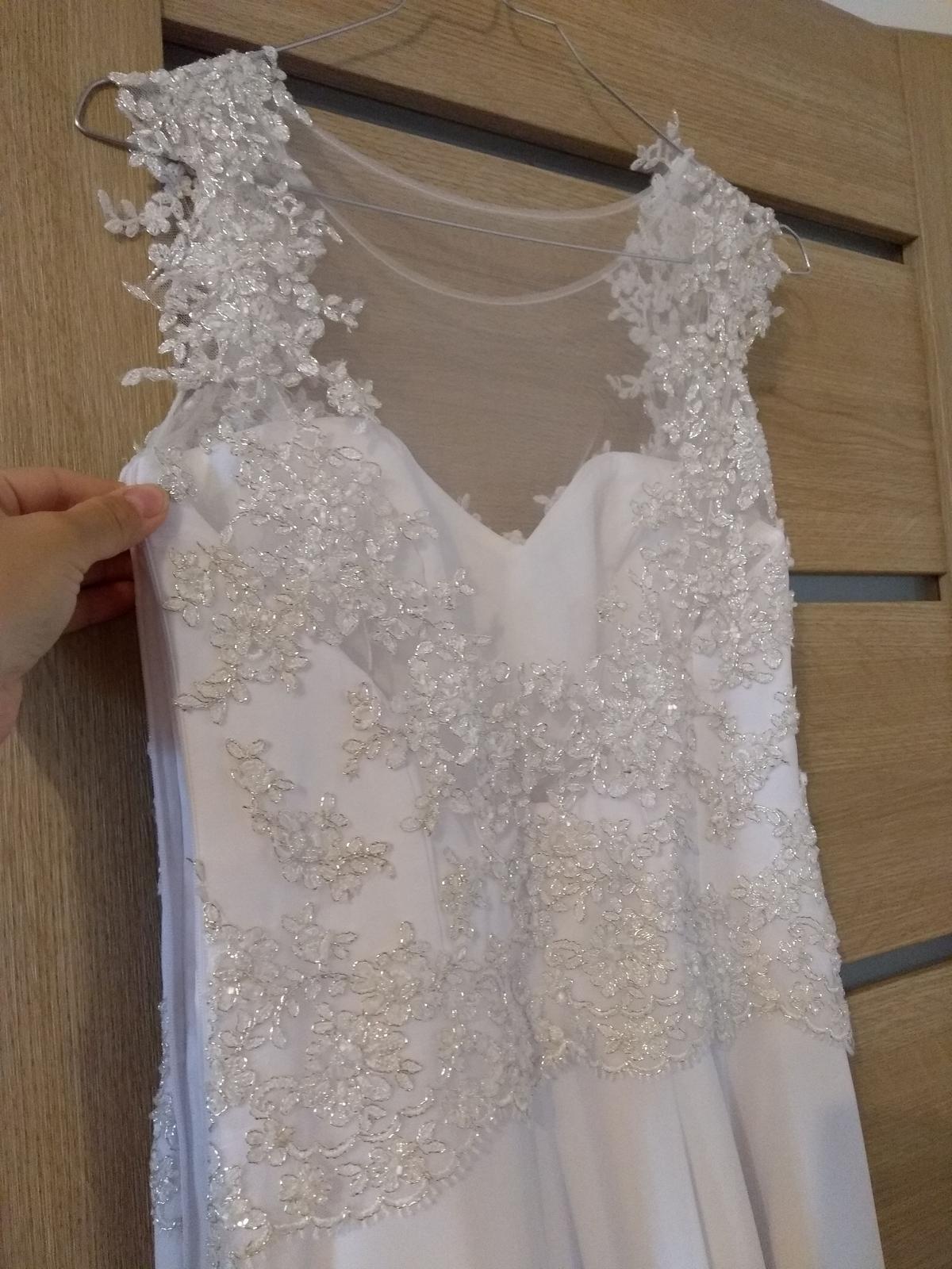 Svadobné šaty pre nižšiu postavu - Obrázok č. 4