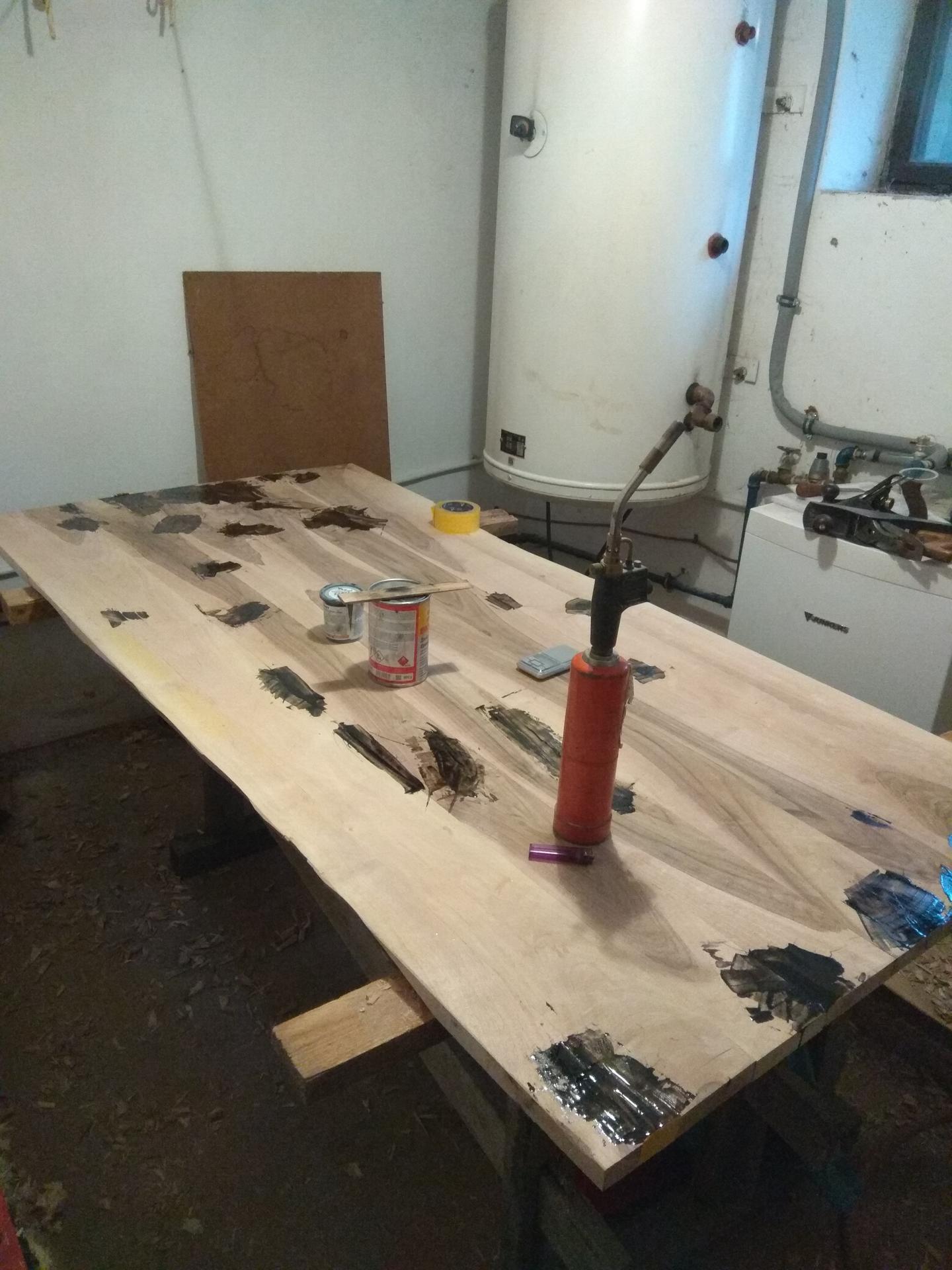 Orechový stôl - Obrázok č. 11