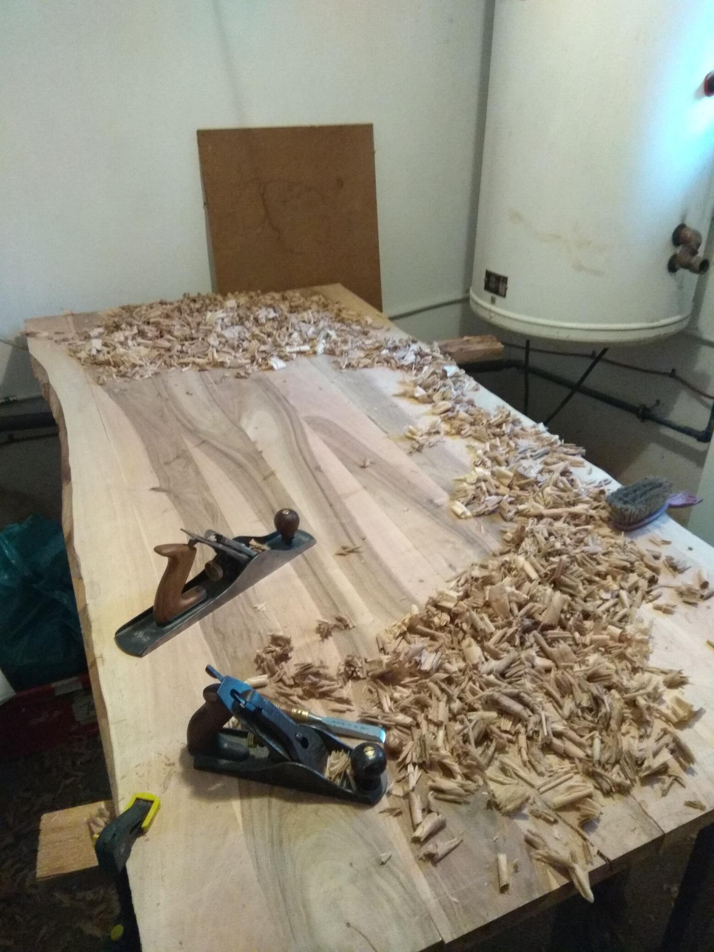 Orechový stôl - Obrázok č. 14