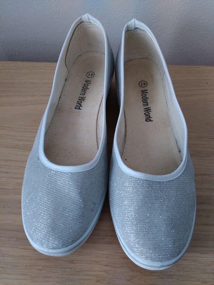 Stříbrné balerínky - Obrázek č. 3