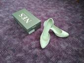 Saténové svatební boty, 40