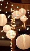 Lampiony na zavěšení a světýlka do lampionů,