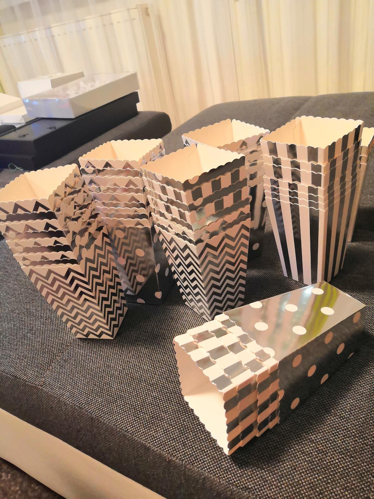 Krabičky na popcorn - Obrázek č. 1