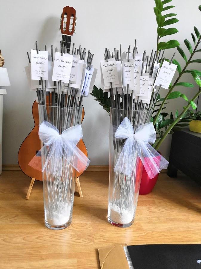 Vázy na prskavky - Obrázek č. 1