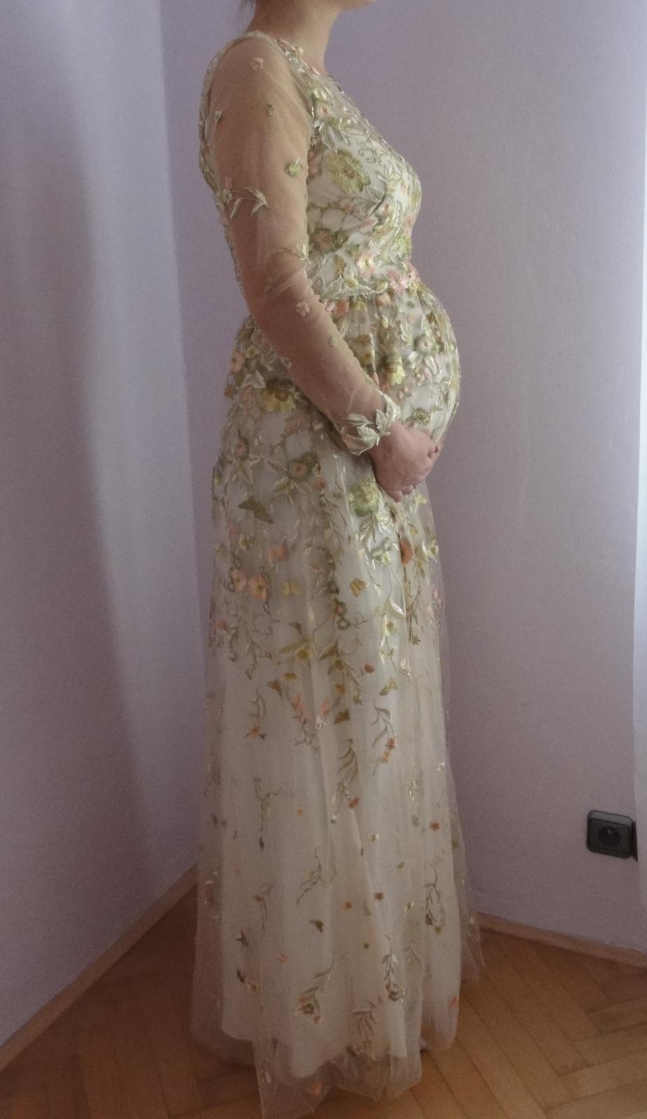 svatební šaty z USA - nepoužité - i pro těhotné - Obrázek č. 1