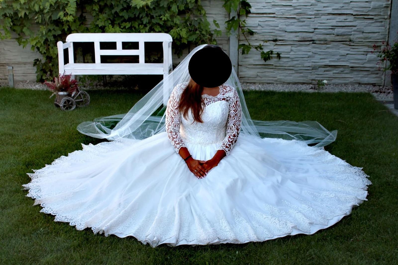 svadobné šaty top kvalita - Obrázok č. 1