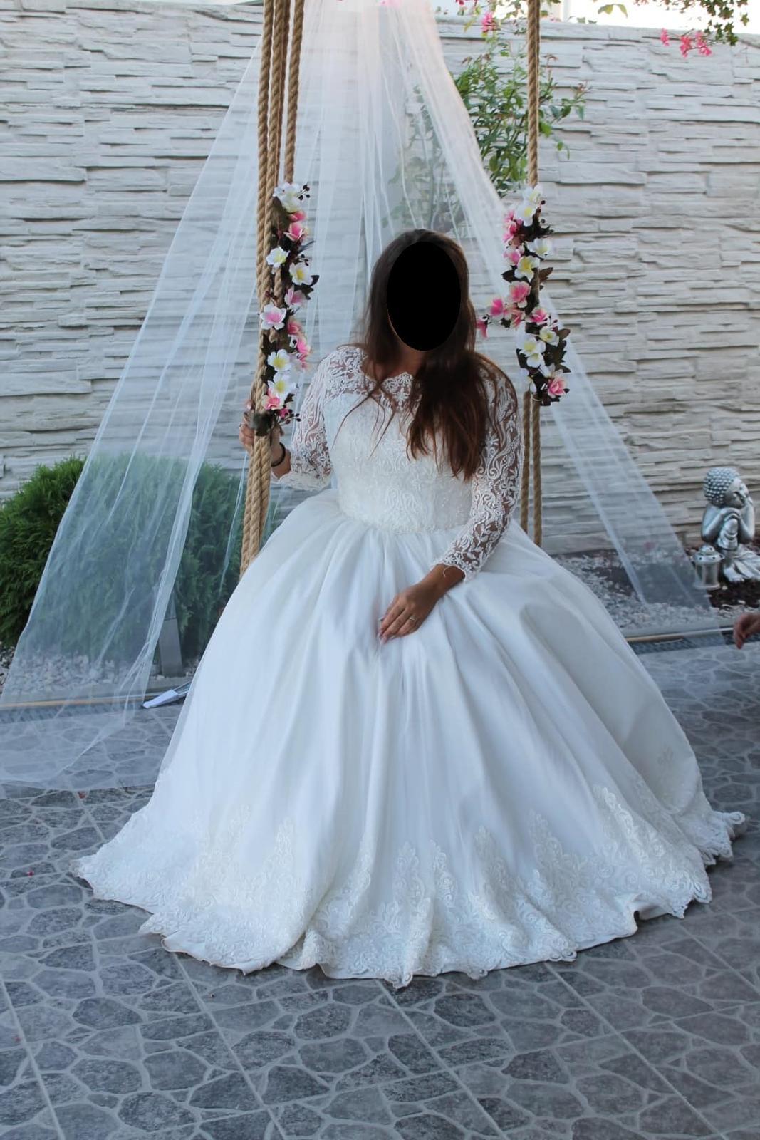 svadobné šaty top kvalita - Obrázok č. 3