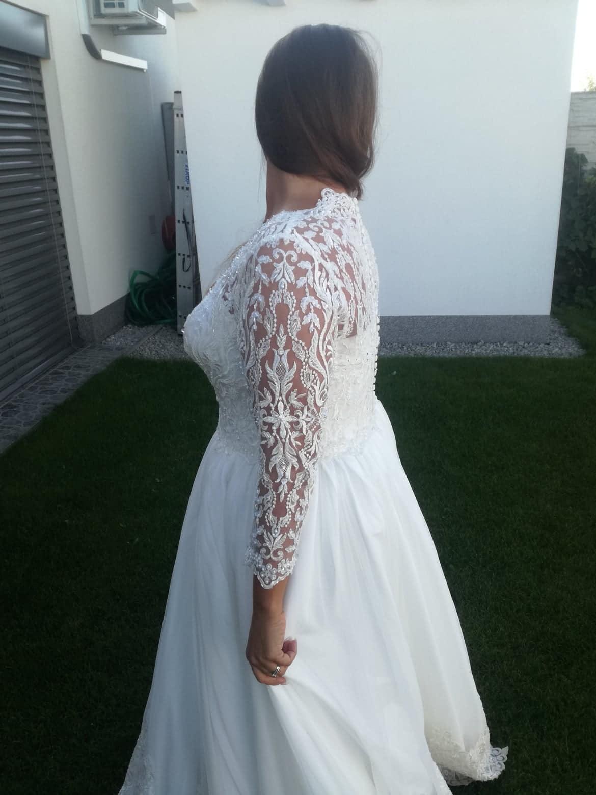 svadobné šaty top kvalita - Obrázok č. 4