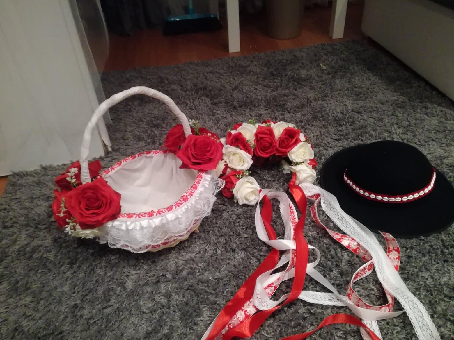 Košík na redový tanec  - Obrázok č. 2