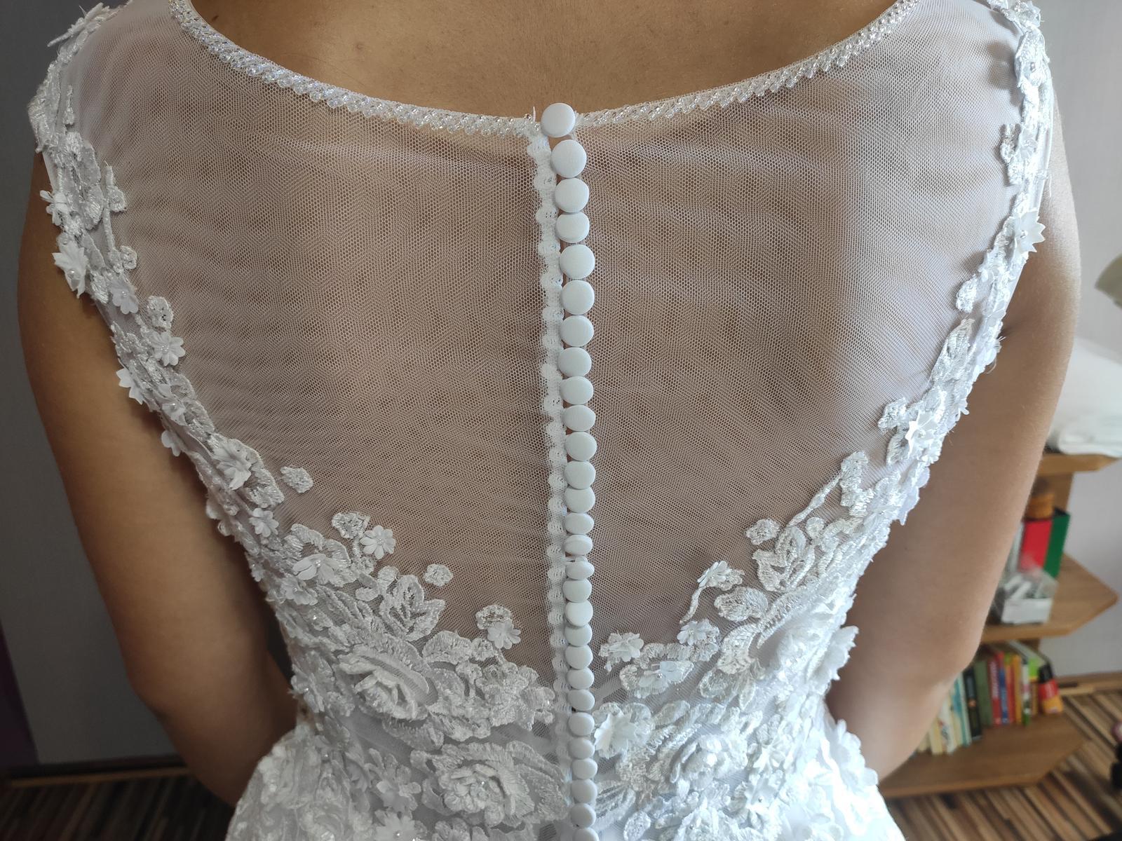 Predávam svoje svadobné šaty - Obrázok č. 4