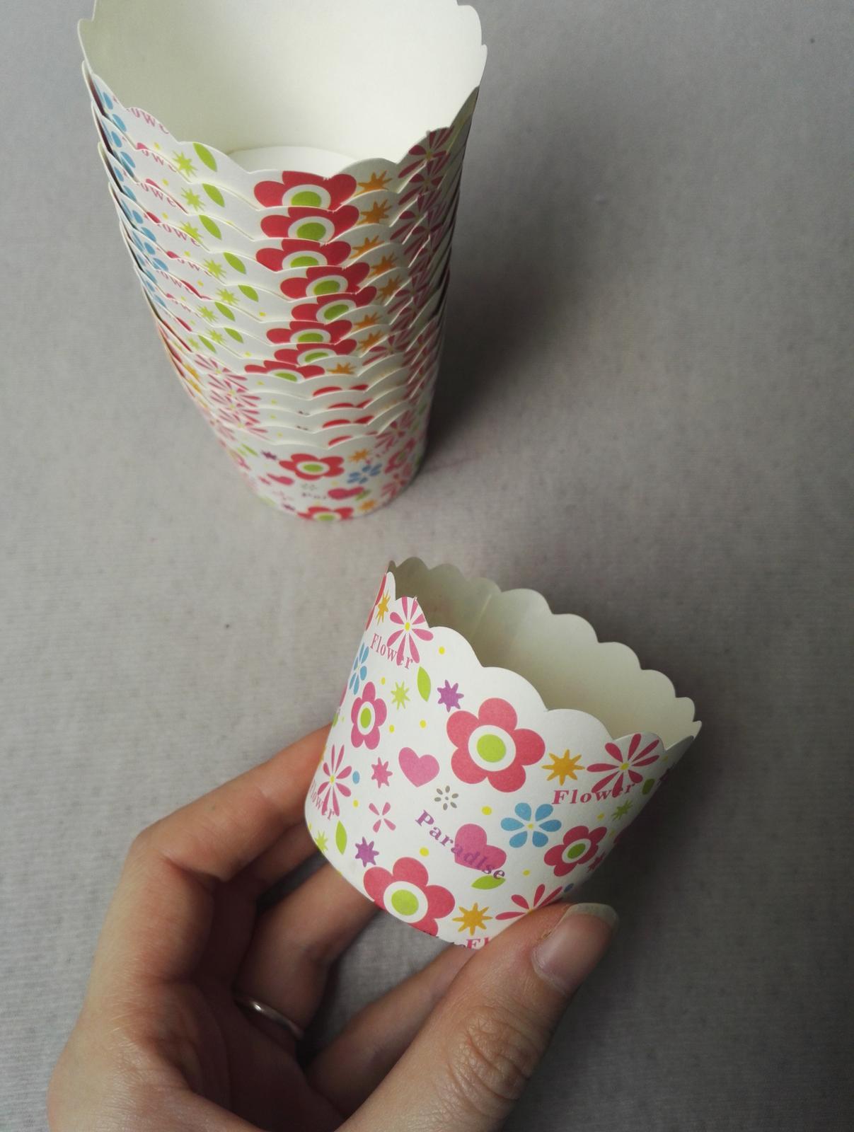 Košíčky na cupcakes, muffiny - Obrázek č. 3