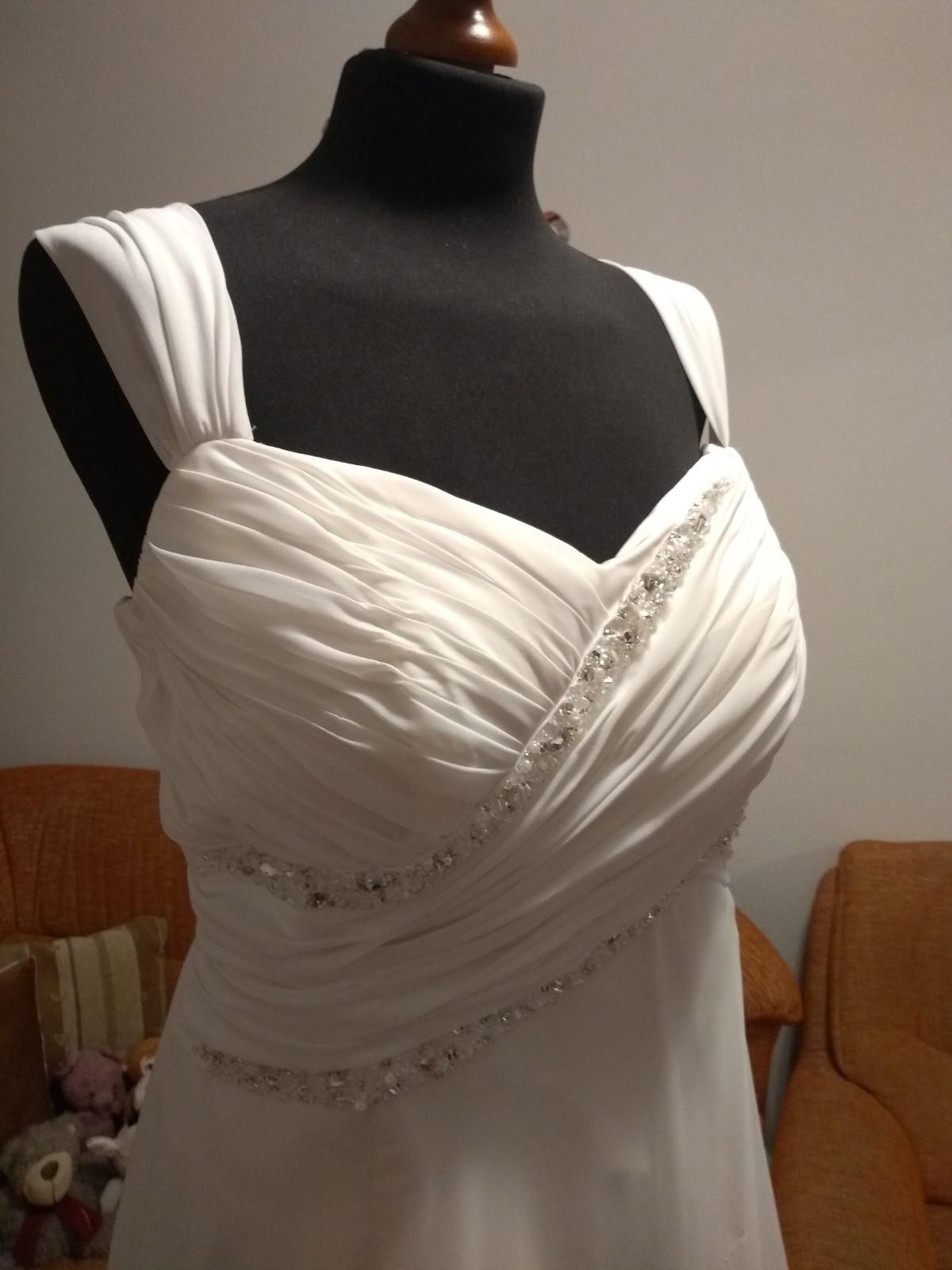 Svadobné šaty smotanové - Obrázok č. 4