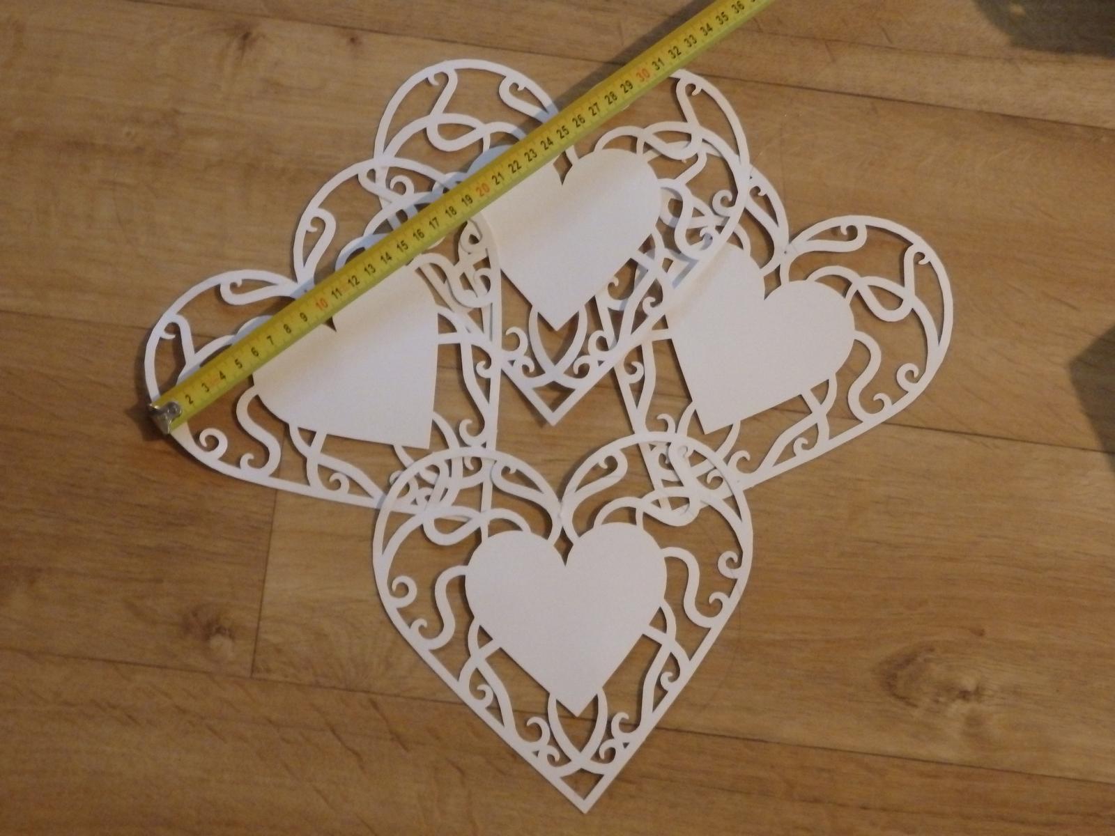 Srdce papírová - Obrázek č. 1