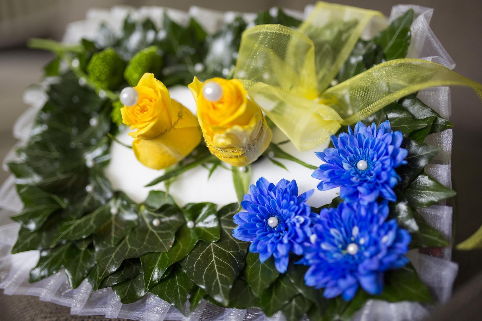 Modrá svatba - dekorace, doplňky - Obrázek č. 1