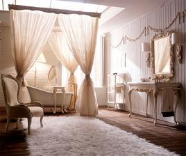 Krása...mám teď romantické období, vana, křeslo a závěsy jsou nádherné, stolek, koberec, zdrcadlo plus ozdoby na zdech bych vyměnila.