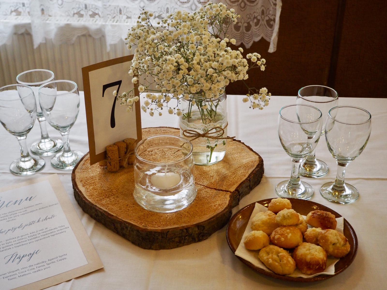 Čísla na stoly - Obrázek č. 2