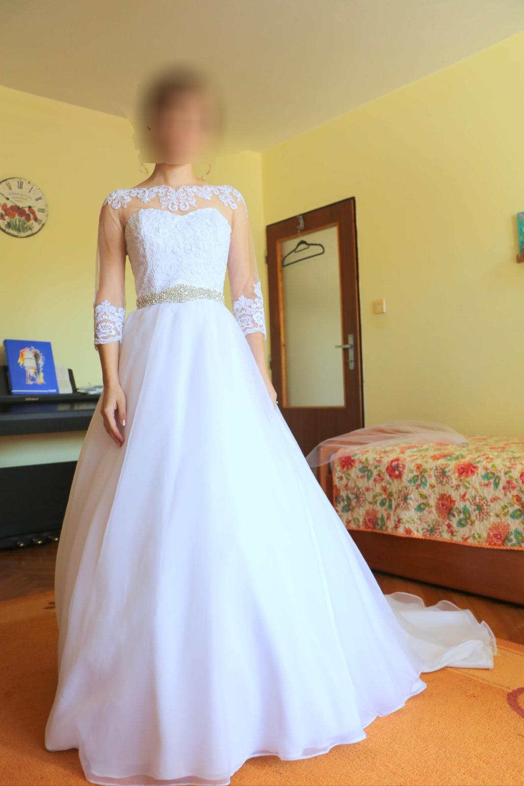Svadobné šaty pre útle nevesty - Obrázok č. 3