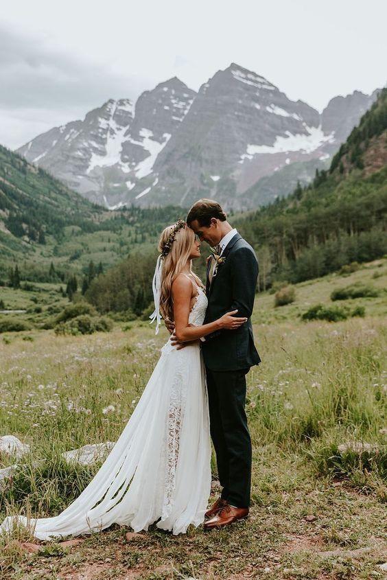 Inspirace pro naši malou svatbu v horách - Obrázek č. 7