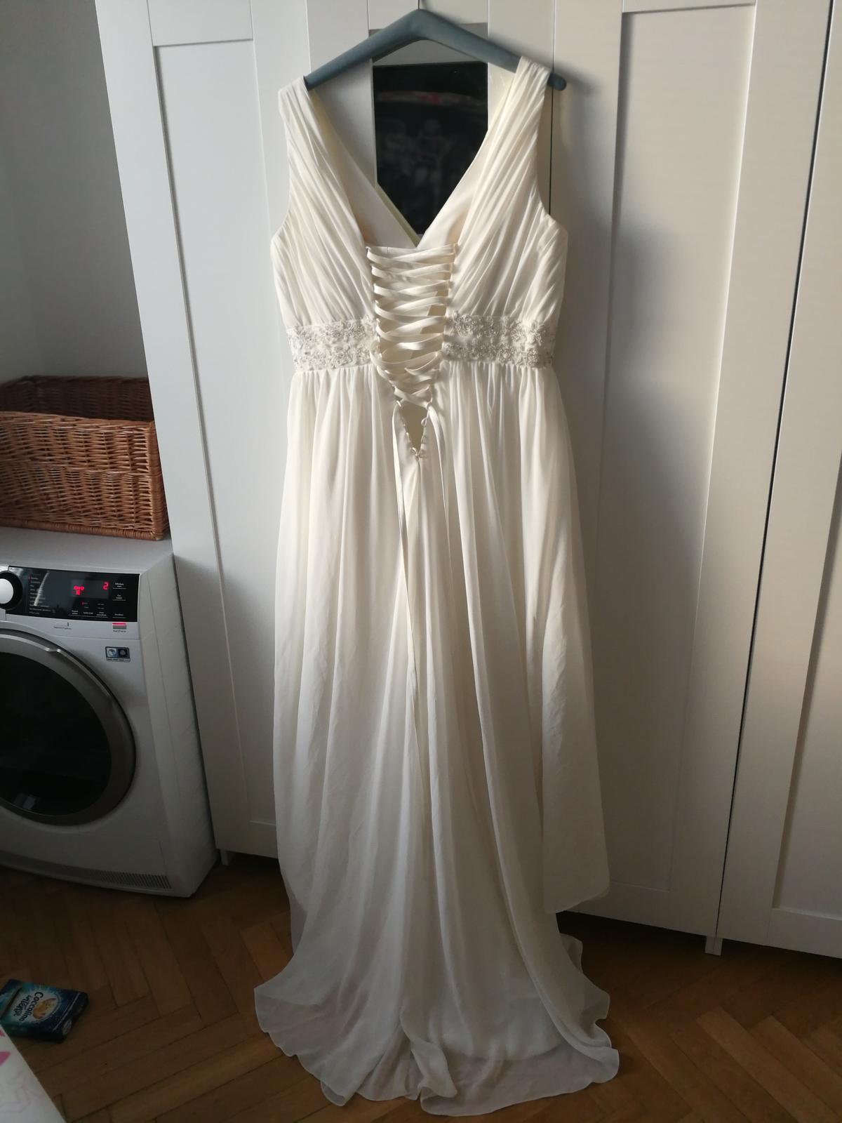 Ivory šaty vel. 42/44-48 - Obrázek č. 1