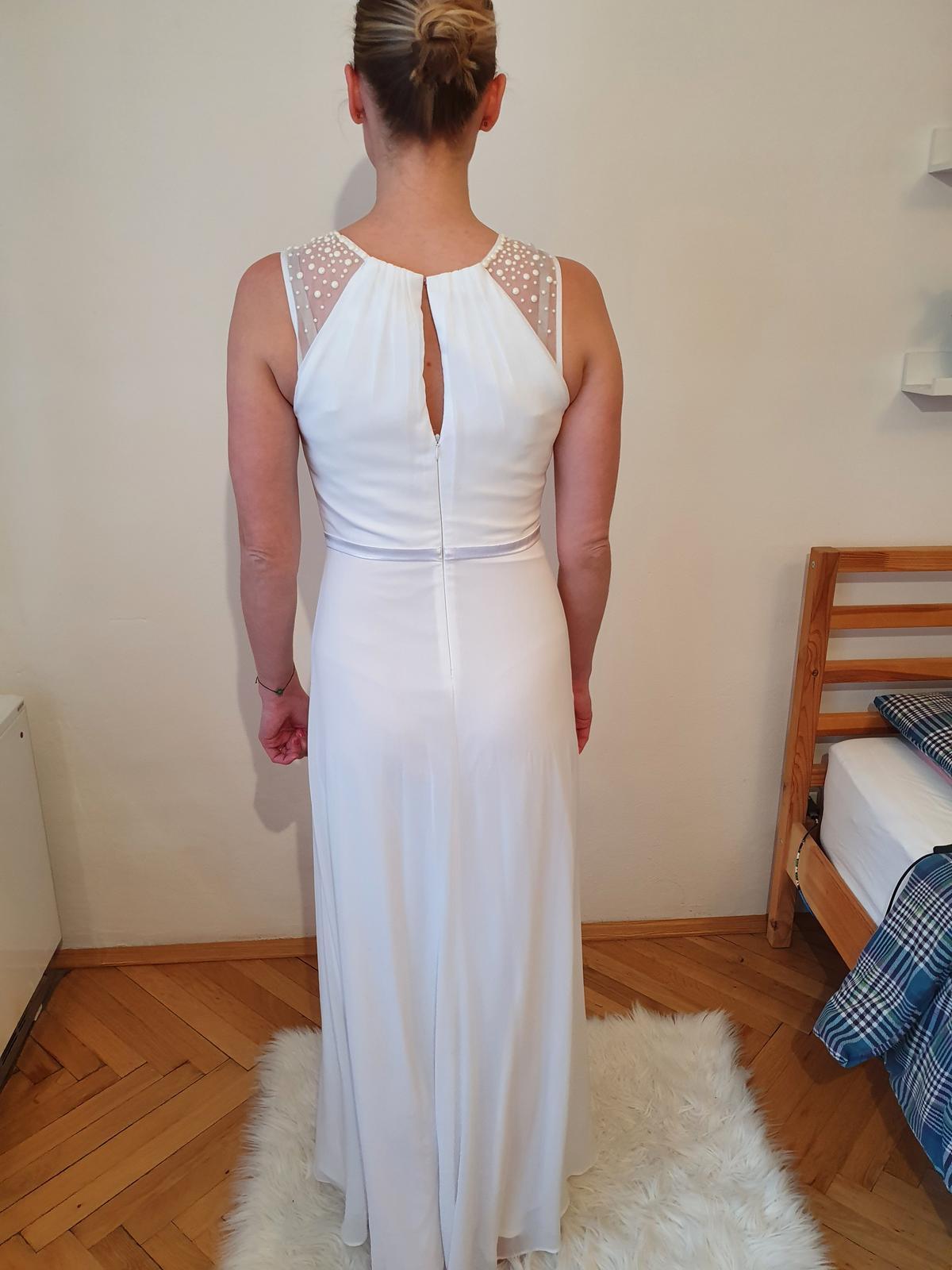 Svatební šaty 36/38 (těhotenské) - Obrázek č. 2