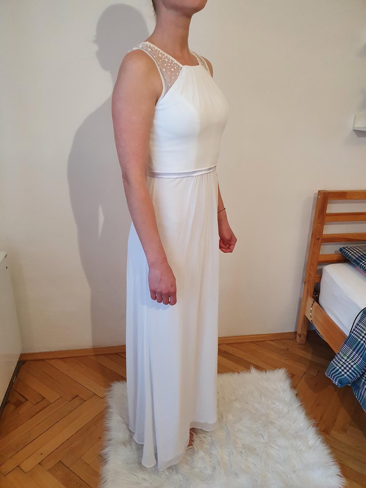 Svatební šaty 36/38 (těhotenské) - Obrázek č. 3