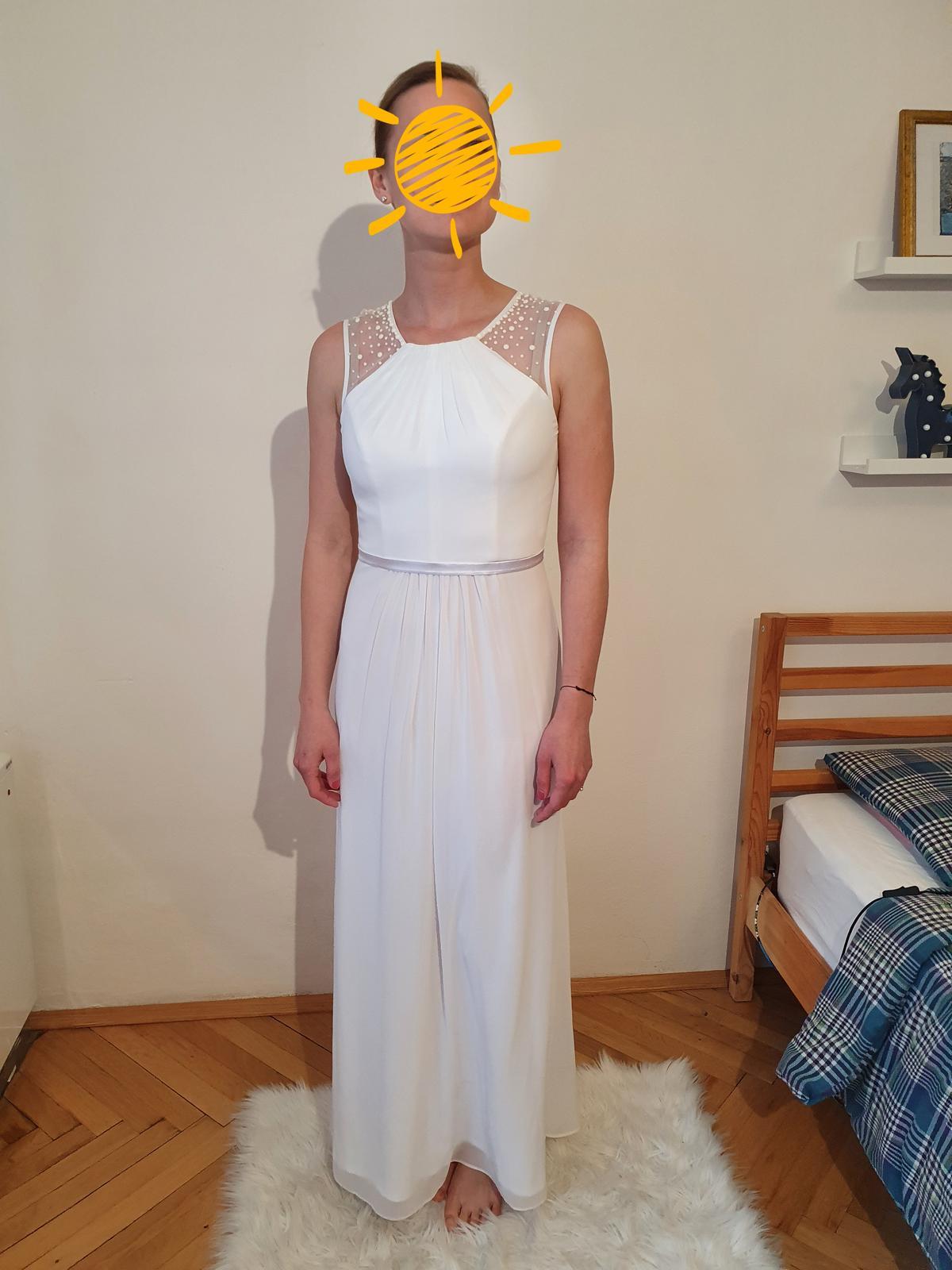 Svatební šaty 36/38 (těhotenské) - Obrázek č. 4