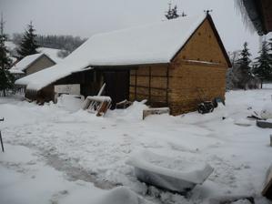 Zima a stodola