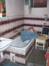 bývalá koupelna, budoucí kotelna