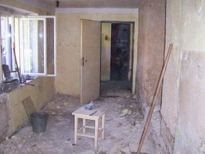 bývalá kuchyň