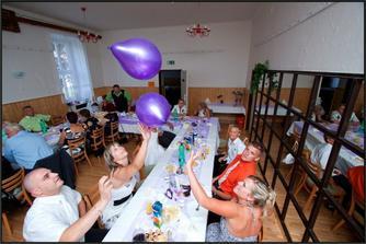 balónky vytvářeli hodně zábavy