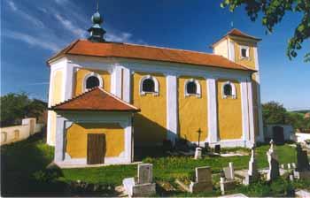 Kostel sv. Martina v Rovečném - místo činu :-)