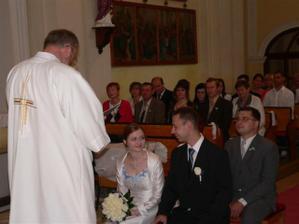 Při obřadu