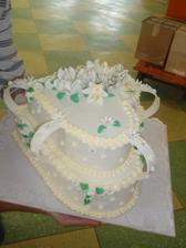 Krásný dort od paní Procházkové