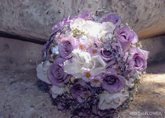 Už čoskoro - predloha svadonej kytice, dúfam, že výsledok bude stáť za to
