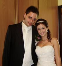 ja a môj zatiaľ ešte snúbenec