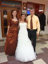 s mojím bratom a Katkou