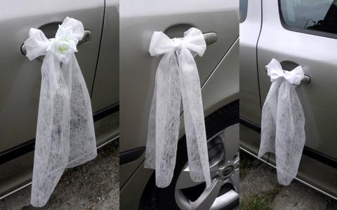 Naše modro-bílá svatba - na kliky aut