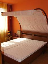 Naša nádherná nová posteľ
