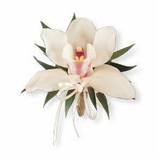 nebo jedna orchidej na zápěstí...