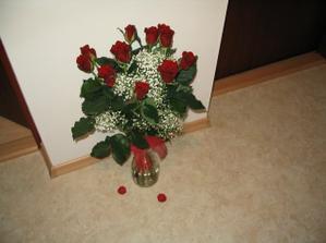 11 let = 11 růží - no není romantik?