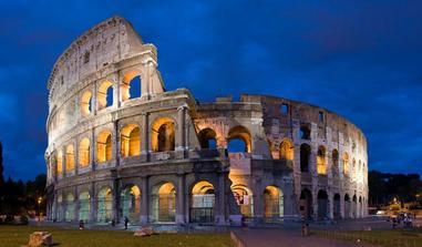 Řím - předsvatební cesta