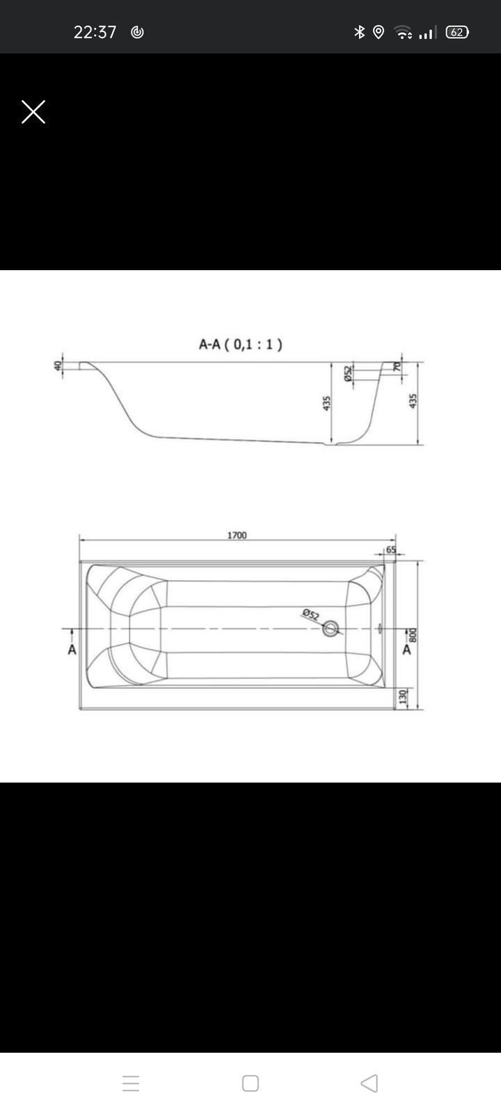 Cersanit Smart vana levá 170/80 - Obrázek č. 2