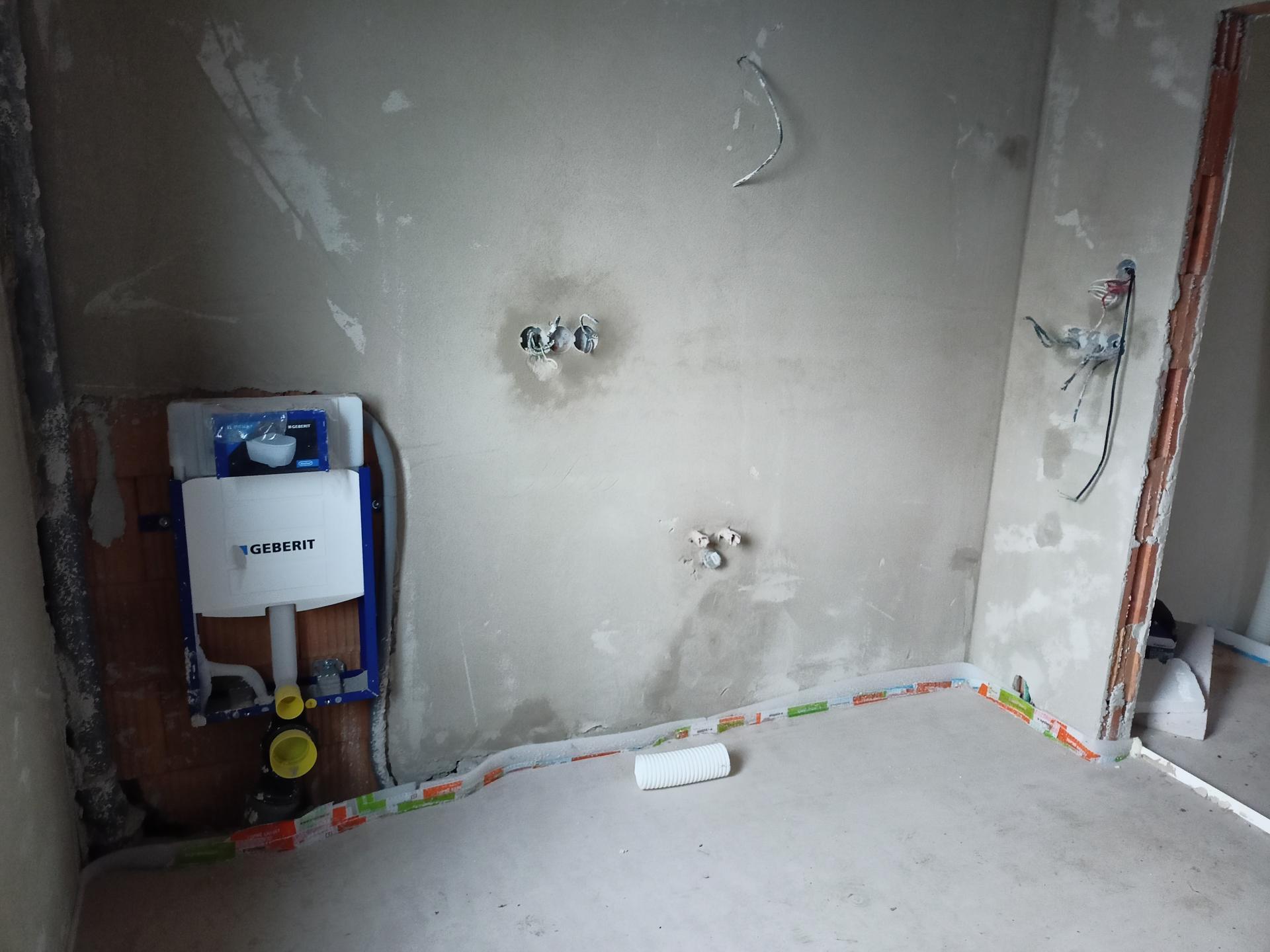 Naše doma - Koupelna v podkroví