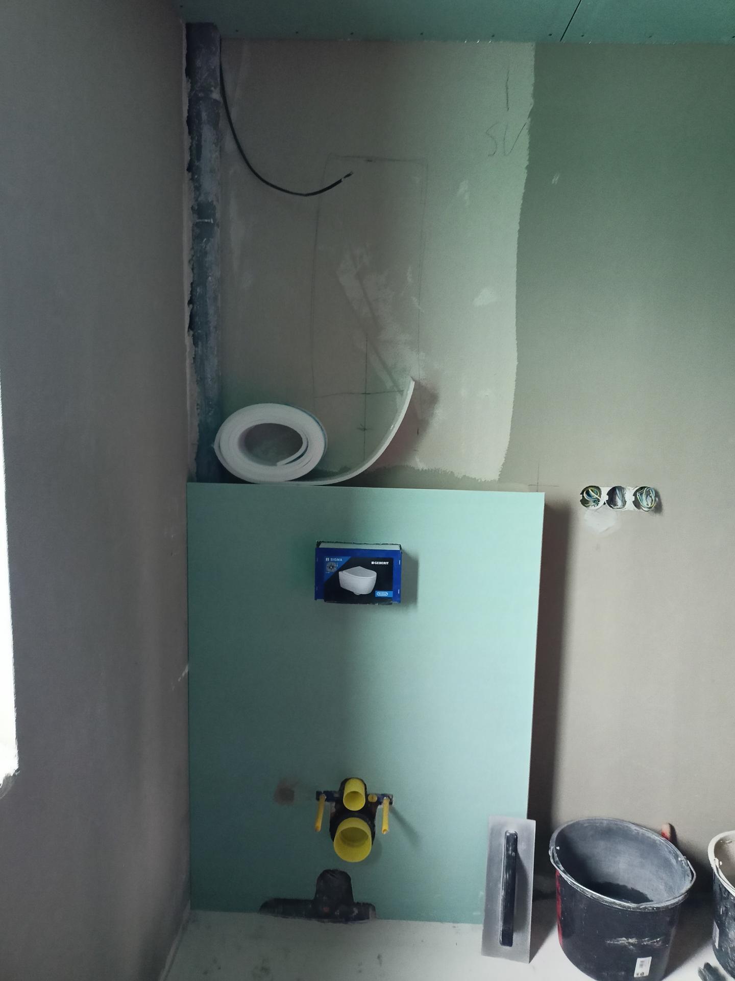 Naše doma - WC podkroví