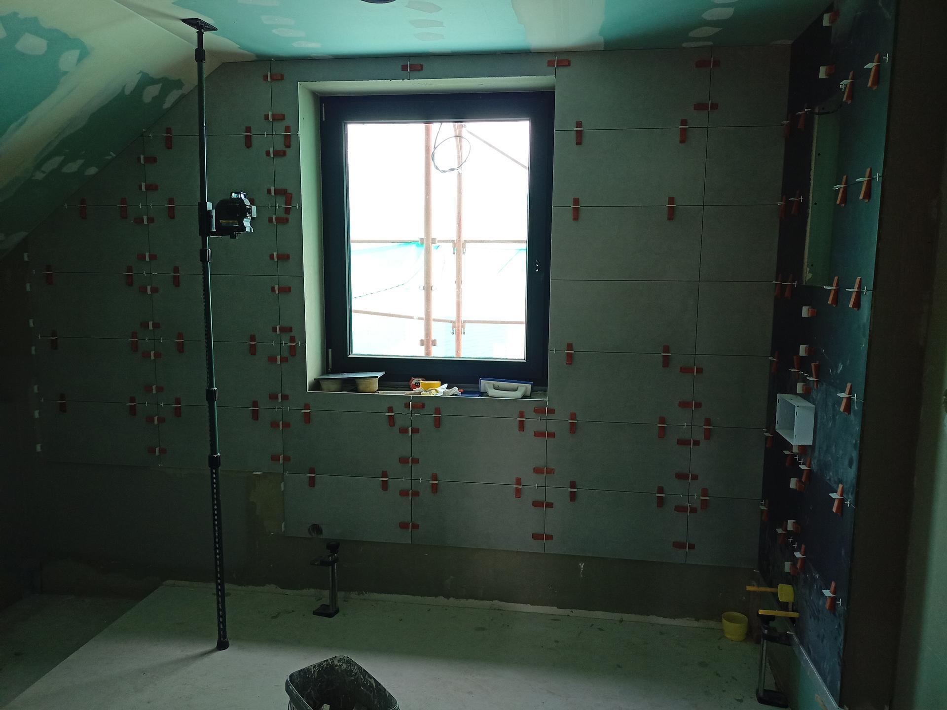 Naše doma - Koupelna podkroví