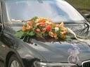 auto by som chcela zo zivych kvetov