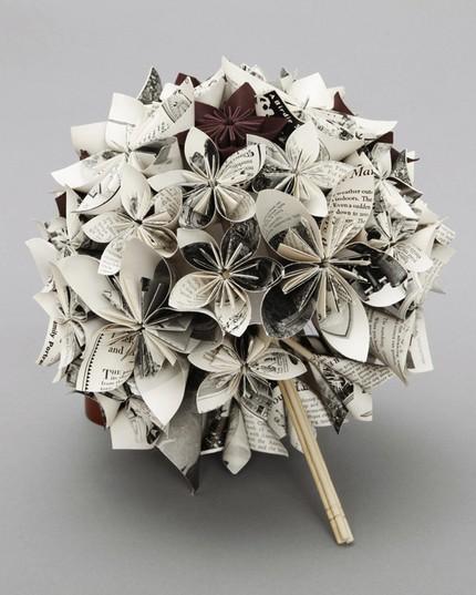 Papierové kytice :) - Obrázok č. 23